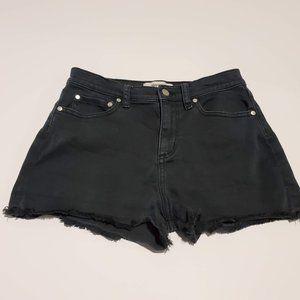 PINK Victoria's Secret Black Jeans Shorts